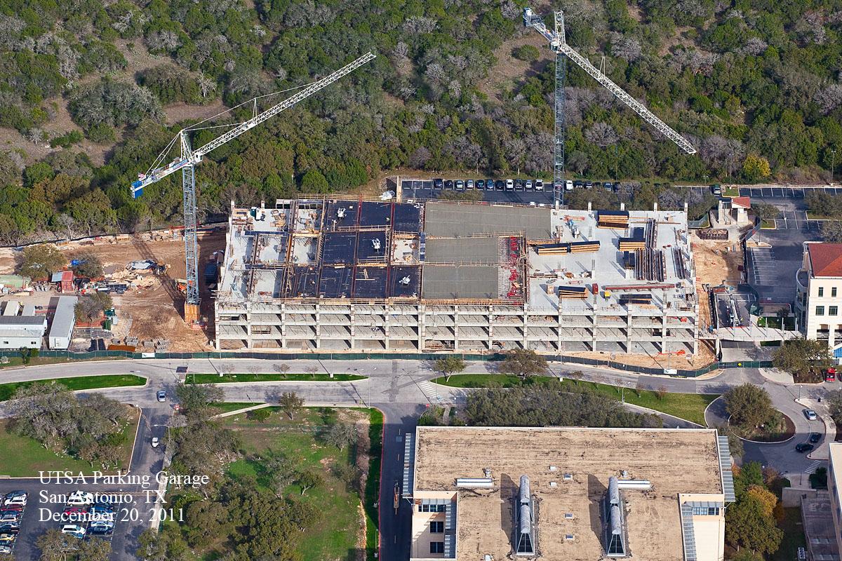 Construction Progress Aerial Photography San Antonio Tx