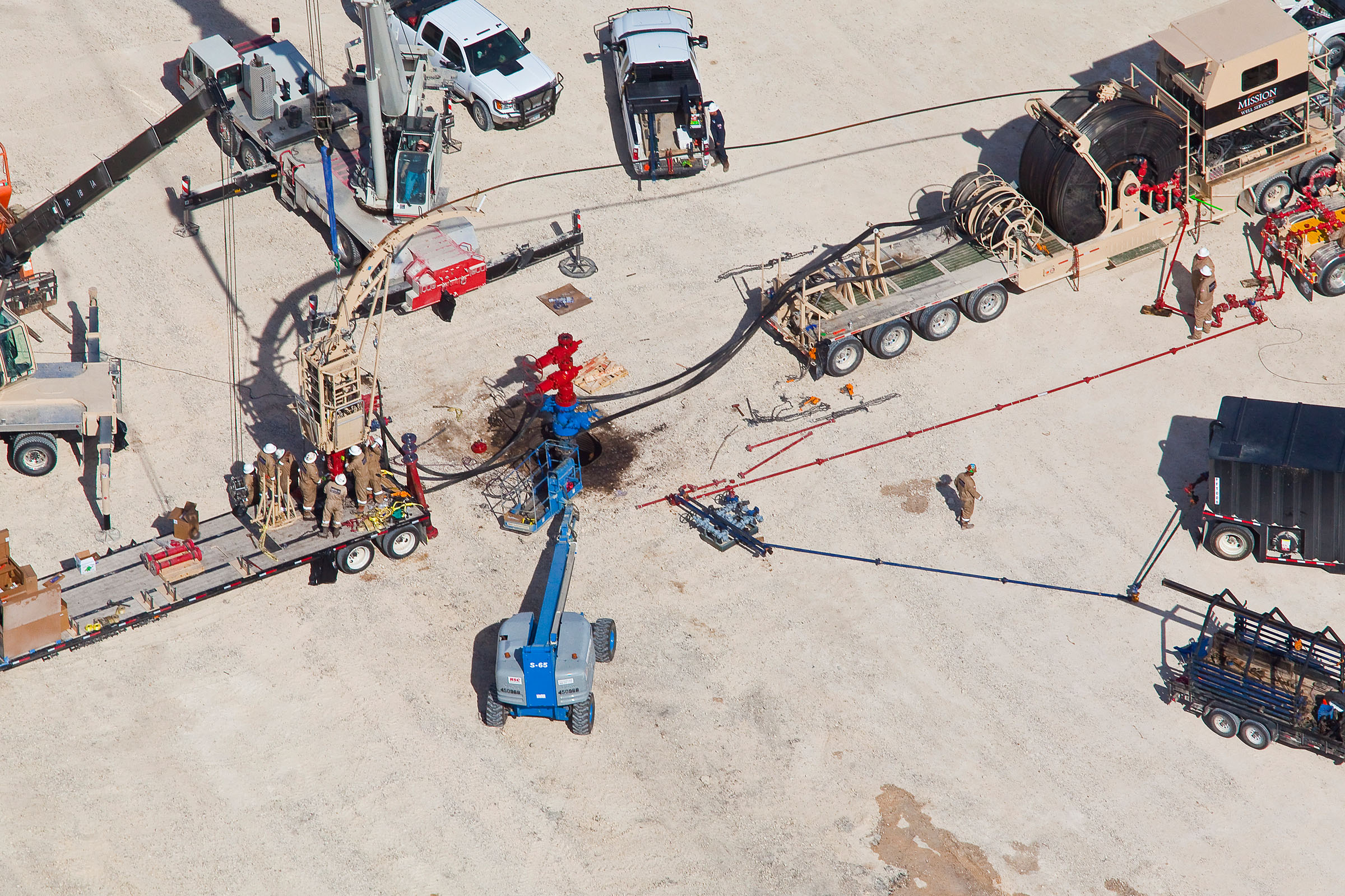 Coiled Tubing Services Texas : Coiled tubing custom aerial images